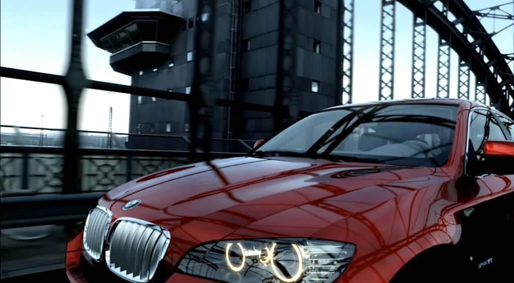 Wir produzieren 3D Animation Webclips für den BMW X6.