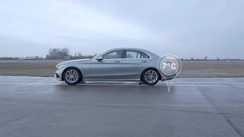 Die Die Mercedes-Benz Winterkompletträder und -reifen bieten bei allen Straßenverhältnissen Sicherheit.