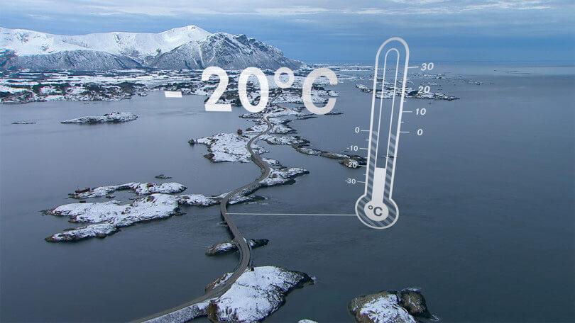 Der Produktfilm zeigt auf, dass die Winterkompletträder von Mercedes Benz selbst bei kühlen Temperaturen Sicherheit bieten.