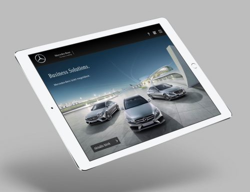 Mercedes-Benz – Fleet Sales App