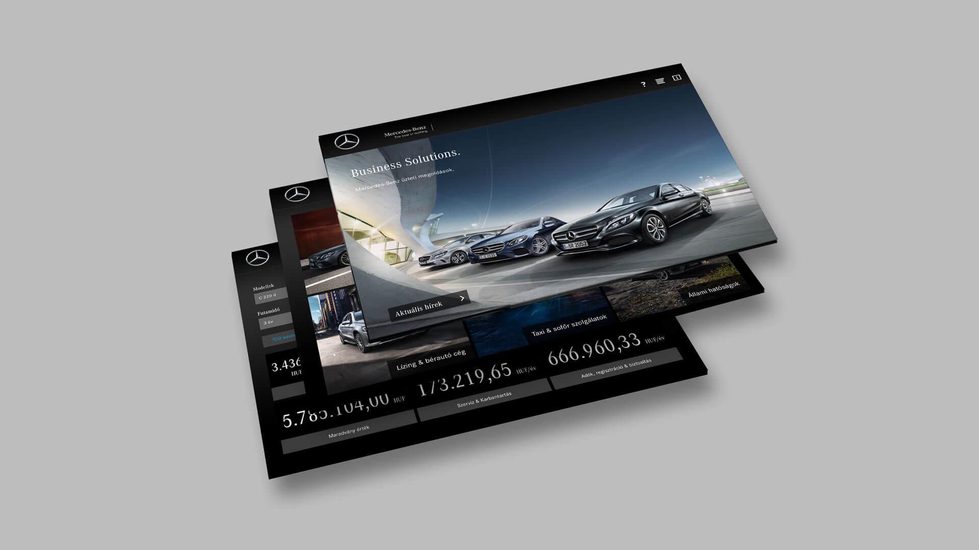 In der Mercedes-Benz Fleet Sales App fürs iPad kann der lokale Ansprechpartner für den Flottenvertrieb schnell gefunden und kontaktiert werden.