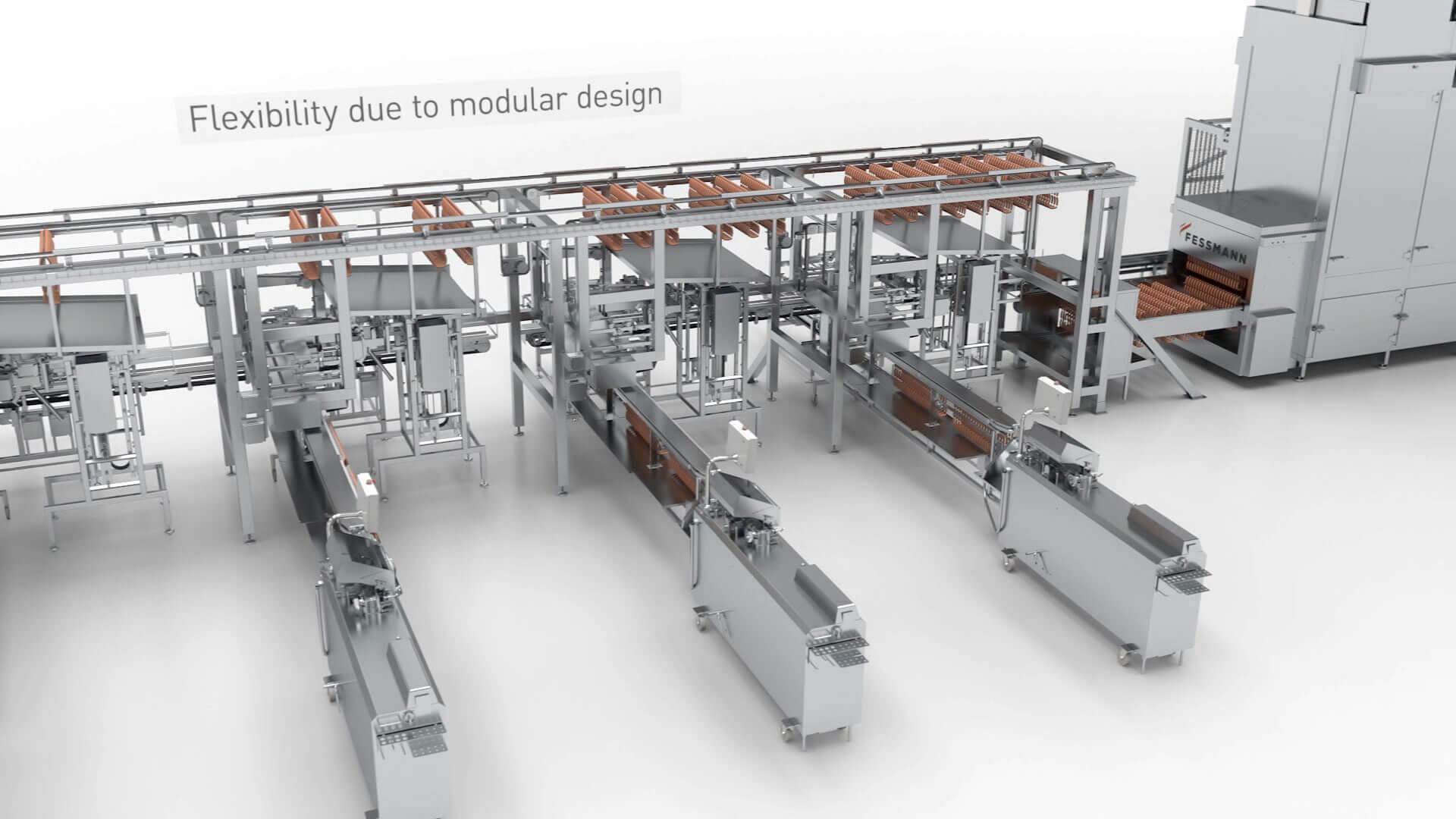 Ansprechende Produktfilme erstellen wir entsprechend Ihren Vorstellungen gerne auch mit 3D Animationen: hier für unseren Kunden Fessmann.