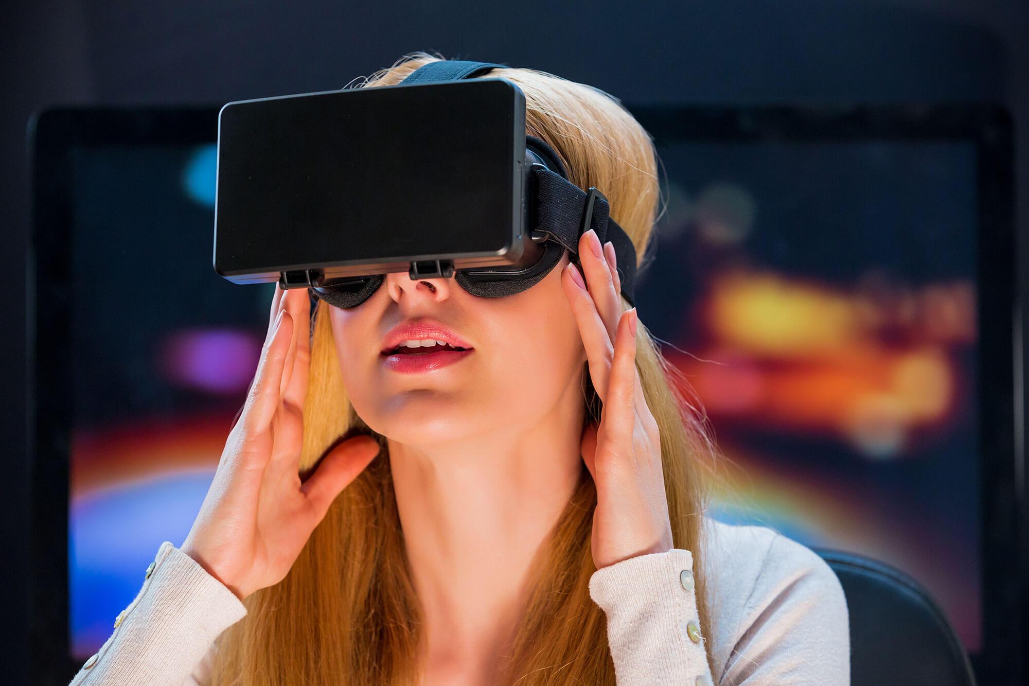 Sprechen Sie mit Virtual Reality alle Sinne Ihrer Nutzer an.