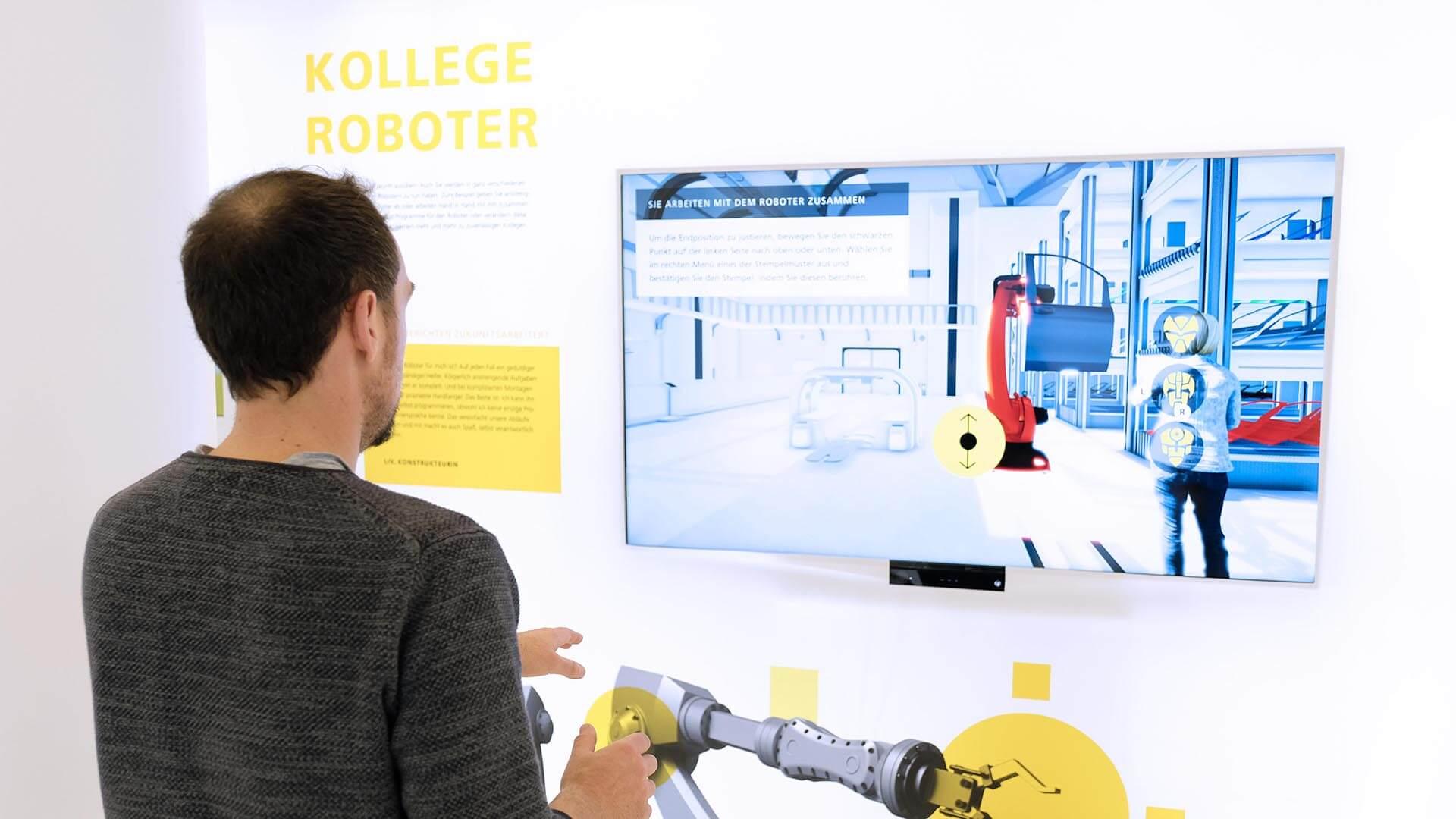 Mit Virtual Reality haben Sie die Möglichkeit, auf Ausstellungen Ihre Produkte lebensnah den potentiellen Kunden zu präsentieren – wir helfen Ihnen weiter!