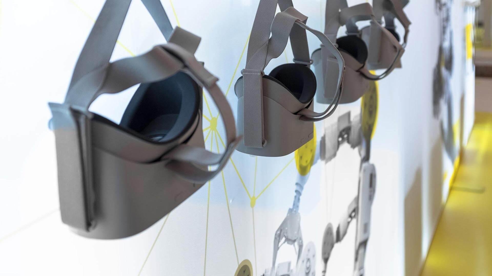 Interaktive Virtual-Reality-Apps haben wir gemeinsam mit unseren Kollegen von b.ReX konzipiert.