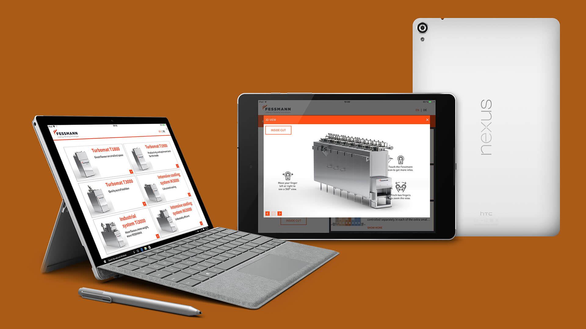Muli-Plattform Sales App