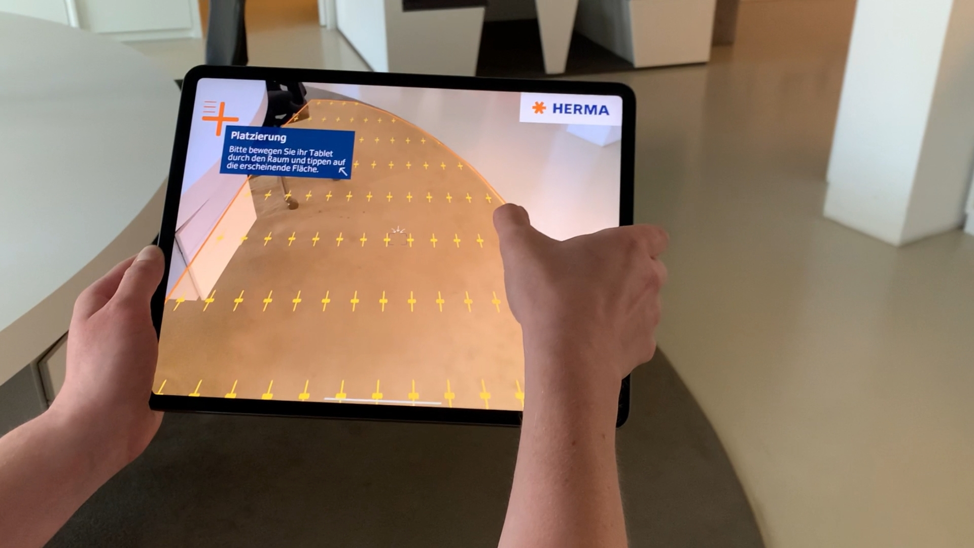 HERMA InNo-Liner Augmented Reality App - Tracking